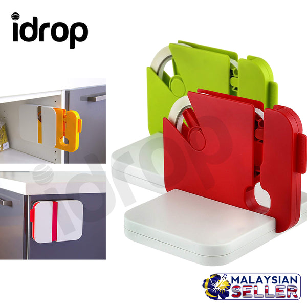 idrop Household Portable Kitchen Sealing Machine Can Be Fixed Bag Clips + free 1 unit tape