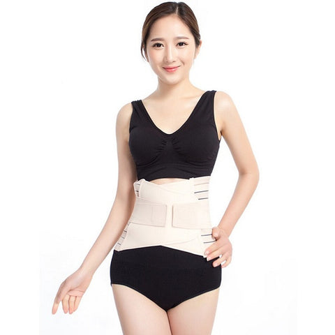 Set Of 2 Postpartum Recovery Belly Waist Tummy Belt Shaper Slimming Body Support Band