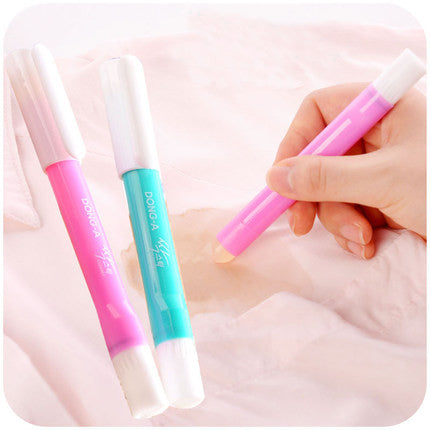 Set Of 2 Portable Clothes Scouring Pen