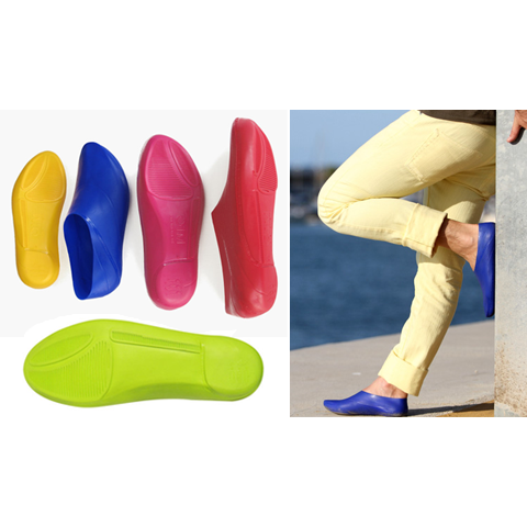 OneMoment Biodegradable Shoes (Yellow - Size XXS)
