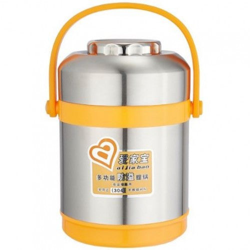 Stainless Steel Heat Preservation Portable Pot 1.4L