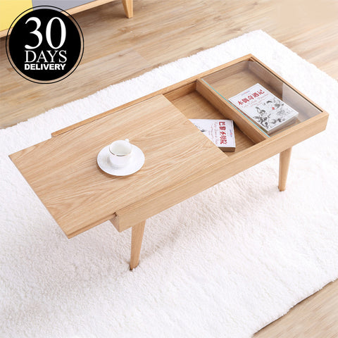 Japanese Wooden Coffee Table