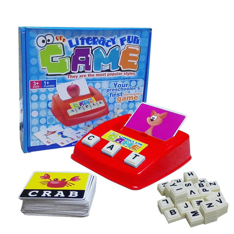 Kids' Educational Toy - Literacy Fun Game