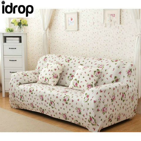 Flower bloom Simple four seasons solid color sofa sets-(2-SEAT)