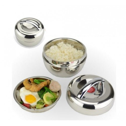 Thermal Insulation Stainless Steel Bento Lunch Box Food Container 1300ML