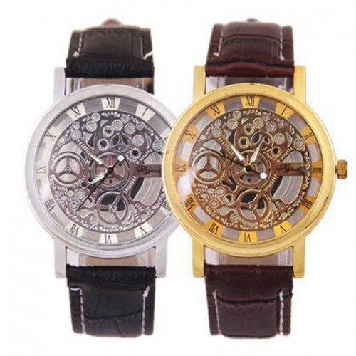 Transparent Fashion Swiss Quartz Watches