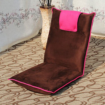 Two - Tone Foldable Mini Futon