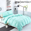 NAVYDALY Fashion style bedding queen size bed sheet with bolster