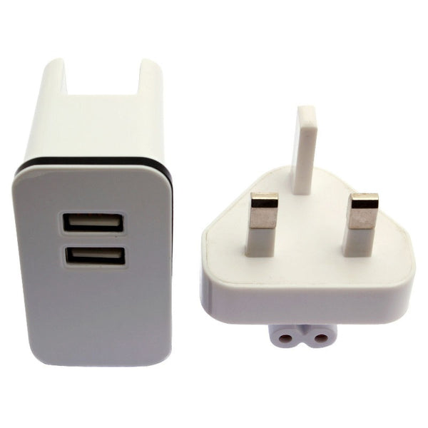 Travel Wall Charger Adapter 2 USB Port