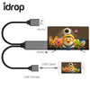 idrop Phone to HDMI Digital AV Cable Adapter for iPhone Samsung iPad Android Smartphones to Mirror on HDTV Projector
