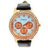 WOMAGE Diamond Numeral Dial Wrist Quartz Women Dress Watches