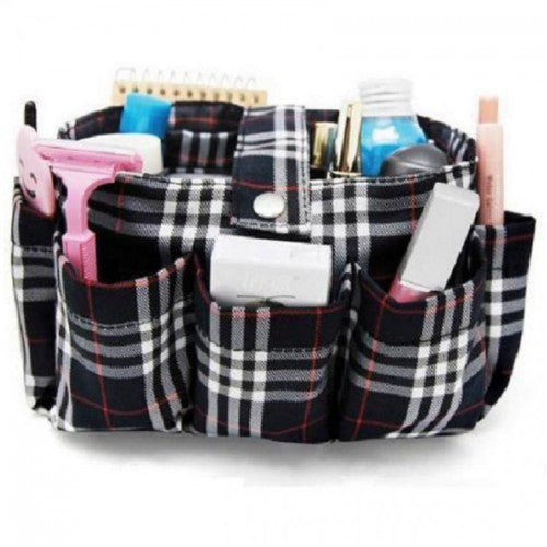 Women Makeup Storage Purse Bag Organizer