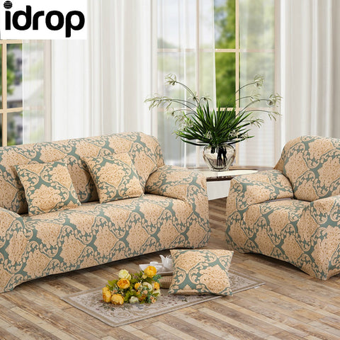 Flower bloom Simple four seasons solid color sofa sets-(3-SEAT)