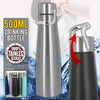 idrop 500ml Stainless Steel Drinking Flask with Handle