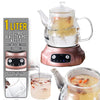 idrop 1L Electric Health Glass Jar Tea Pot Kettle