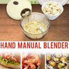 idrop Handheld Manual Speeder Chopping Blender for Vegetables & Meat / Pengisar Makanan Daging & Sayur -