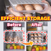 idrop Kitchen Stackable Egg Storage Box Tray [ 25cm x 30.5cm x 6cm ] [ 1PC ]