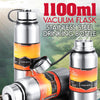 idrop 1100ml Stainless Steel Vacuum Sports Drinking Bottle Flask Container