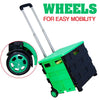 idrop Foldable Portable Compact Shopping Trolley Cart