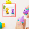 idrop CUTE ANIMAL ERASER - [ 4pcs / Box ]