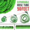 idrop 50ft Expandable Flexible Garden Car Wash Water Hose Set [ 7 Water Spray Mode ]