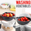 idrop Multifunction Kitchen Wet Basket Vegetable Washer & Cutter / Bekas Potong & Basuh Sayur