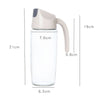 idrop [ 600ml ] Leakproof Oil & Seasoning Sauce Glass Jar Jug Dispenser