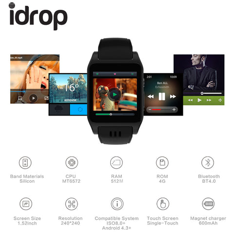 idrop X86 Smart Watch 1.54
