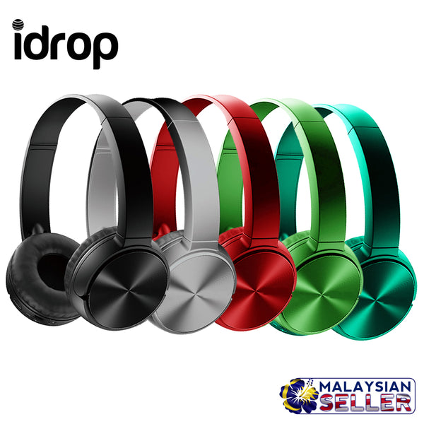 idrop MDR-XB400BY Wireless Bluetooth Extra Bass Stereo Headphone