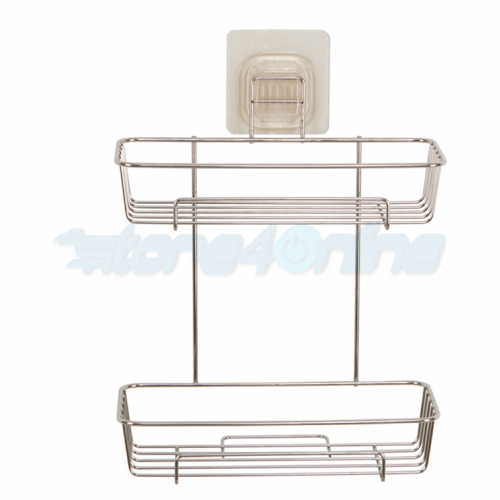 YF9110 2 Layer Bathroom Shelves