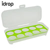 idrop Chicken Eggs Storage Box Organizer (10 Pieces Egg Capacity) [Send by randomly design]