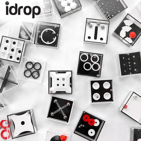 1 x idrop Unique Puzzle Decompression Balance Ball Toy Box DIY Puzzle Toys [Randomly Send]