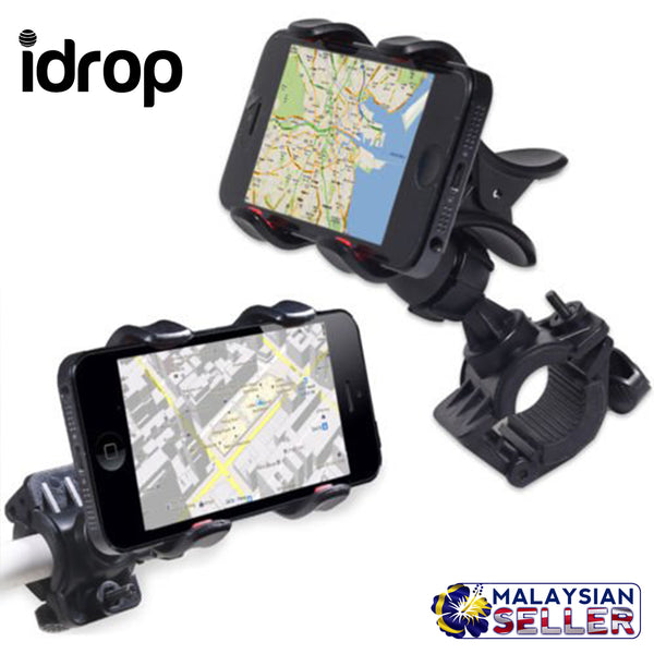 idrop Cell Phone Bike Holder Cradle Mount For Mobile Phones for 4