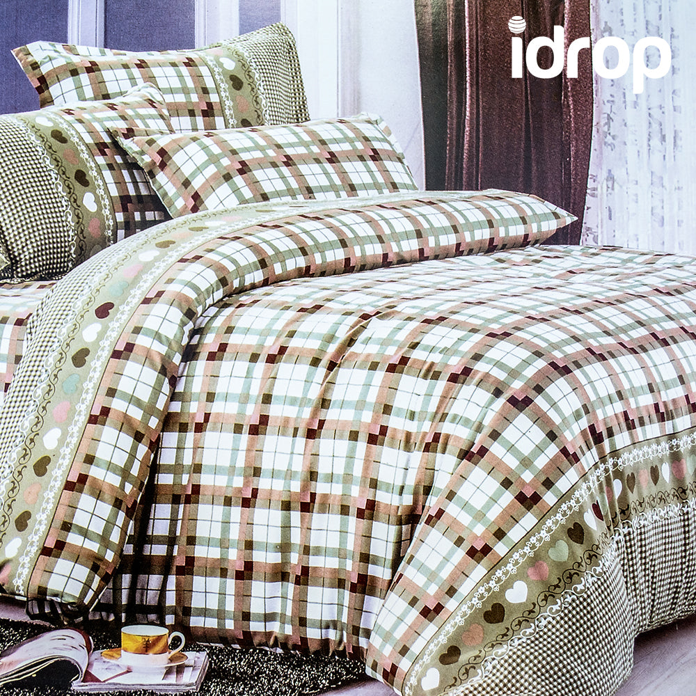 ... Idrop Colorful Fashion Design Bedding QUEEN Size Fitted Bed Sheet Set  [bedsheet/pillowcase/ ...