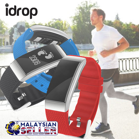idrop DFit DB07 Smart Sports Bracelet Bluetooth Waterproof Sleep Heart Rate Monitor Smart Watch For Android iOS phone