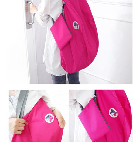 3-Way Easy To Carry Foldable Bag