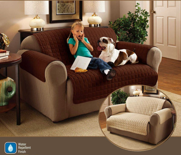 Seater Quilted Sofa Protector