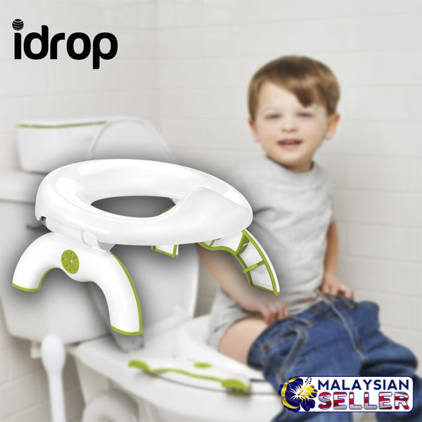 Marvelous Idrop 2 In 1 Kids Multifunction Potty Training Chair Portable Toilet Seat Evergreenethics Interior Chair Design Evergreenethicsorg