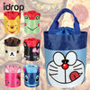 idrop Creative Design Cute Cartoon Theme Style Oxford Cloth Waterproof Lunch Box Bag [Send by randomly design]
