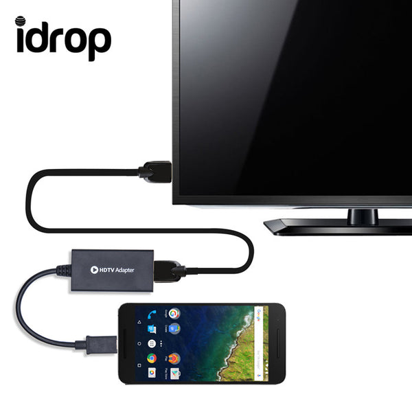 idrop HDTV  Adapter for Samsung Galaxy S2/S3/S4/S5/Note 2/Note 3/Note 4/Note 8.0/Note 10.1/NotePRO/TabPRO/Tab 3/Tab S