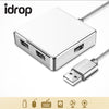 idrop 4-Port USB 3.0 portable Data USB Hub up to 5 Gbps High Speed transfer