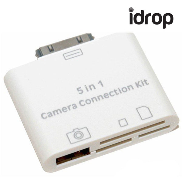5 in 1 Camera Connection Kit USB SD TF Card Reader