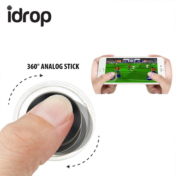 idrop Mini Mobile Joystick Touch Screen Mobile Game Controller For iPhone  Android