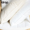 idrop Polyester Soft Feel Density Synthetic Latex Foam Pillow