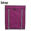 idrop Fashion Multi-Functional Roll-Up Curtain Shoes Shelf / Shoe Rack