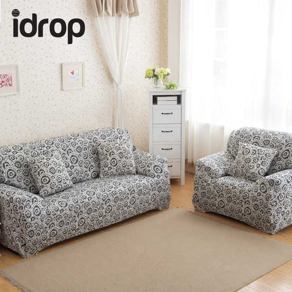 Flower bloom Simple four seasons solid color sofa sets-(SINGLE)