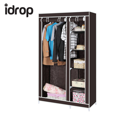 idrop Fashion Portable Wardrobe Cabinet Garment Storage
