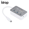 idrop 7 in 1 with Type-C USB 3.0 Hub USB 3.1 MS/ M2/ SD/ TF Card Reader For PC Laptop