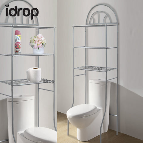 idrop 3-Tier Steel Toilet Rack Shelf organizing unit