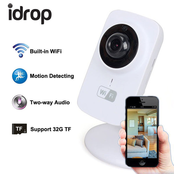 idrop Wifi Camera 720p Wireless HD 720P Smartphone Audio Baby Monitor Indoor